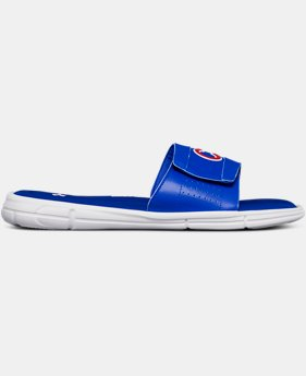 New Arrival Men's UA Ignite V MLB Slides   $45