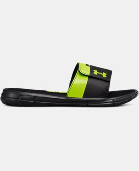 Boys' UA Mercenary IX Slides  3  Colors Available $35