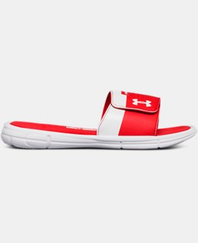 Boys' UA Mercenary IX Slides  1  Color Available $42