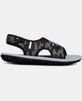Boys' Pre-School UA Fat Tire II Sandals  1  Color Available $55