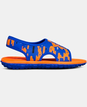 New Arrival Boys' Pre-School UA Fat Tire II Sandals  1 Color $40