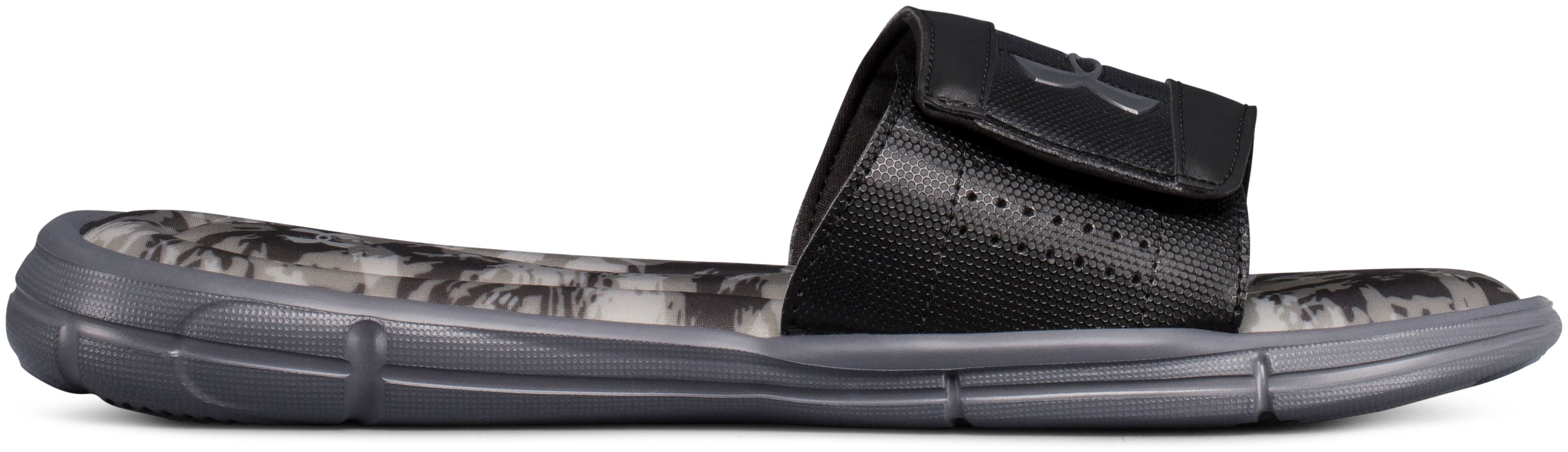 Men's UA Ignite V Breaker Slides, Black