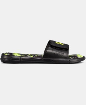 Men's UA Ignite V Breaker Slides  2 Colors $38