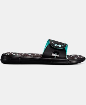 New Arrival Women's UA Ignite VIII Edge Slides  1 Color $35