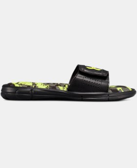 Boys' UA Ignite V Breaker Slides  3  Colors $32
