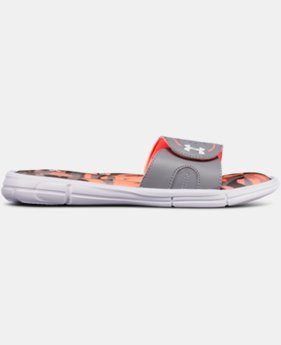 Girls' UA Ignite VIII Alpha Slides  2  Colors Available $35