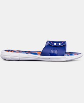 New Arrival Girls' UA Ignite VIII Alpha Slides  2 Colors $32