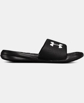 Men's UA Playmaker Fixed Strap Slides  2  Colors Available $34.99