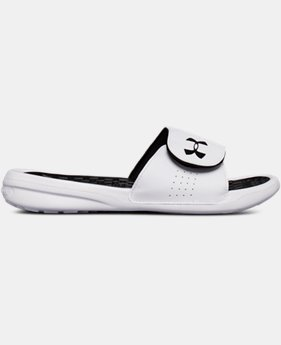 Women's UA Playmaker Adjustable Slides  1  Color Available $30