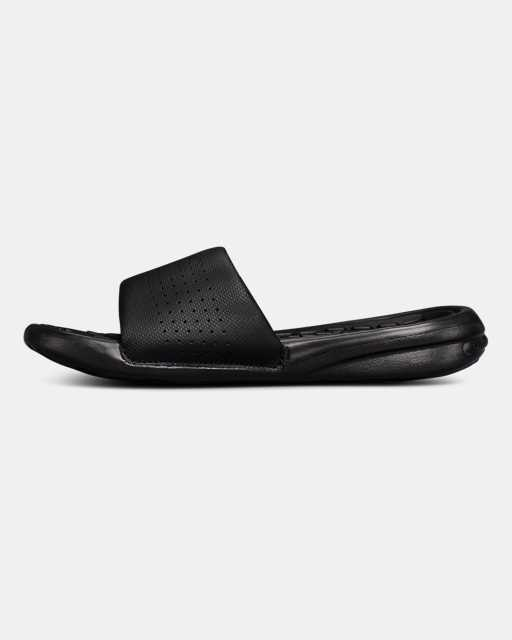 Boys' UA Playmaker Fixed Strap Slides
