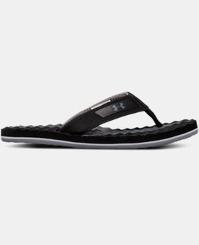 New Arrival Boys' UA Marathon Key III Slides  1 Color $30