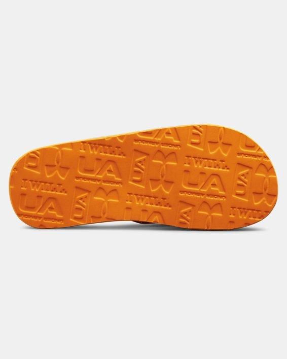 Boys' UA Marathon Key III Slides, Orange, pdpMainDesktop image number 2