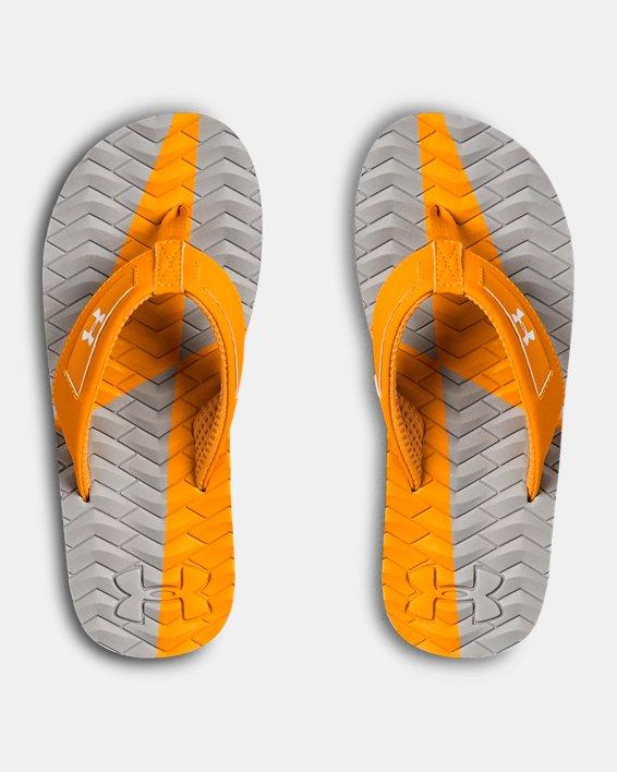 Boys' UA Marathon Key III Slides, Orange, pdpMainDesktop image number 3