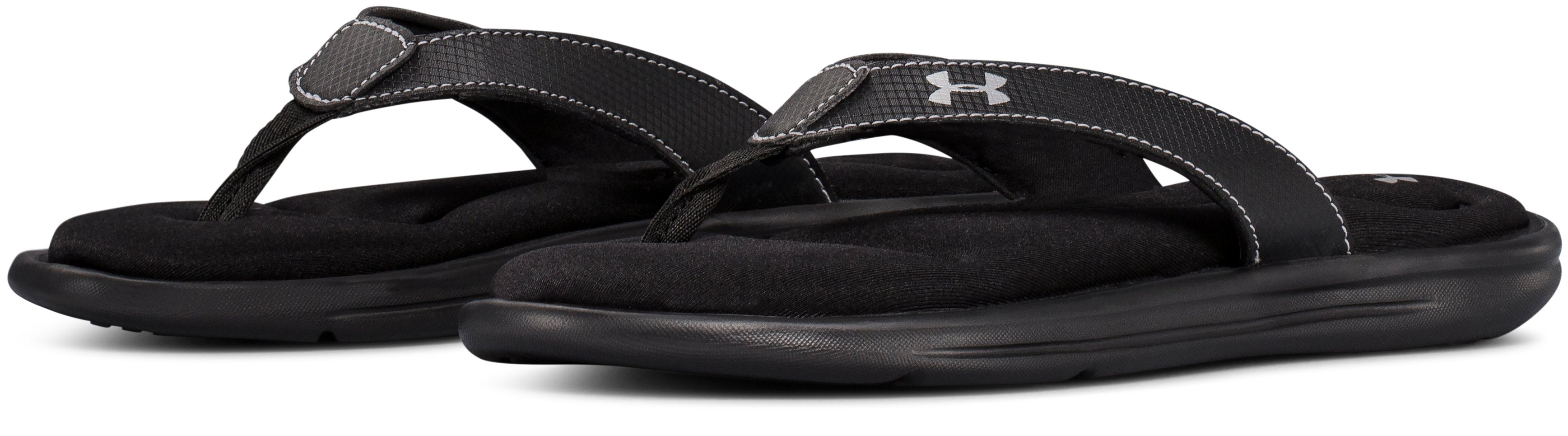 Girls' UA Marbella VI Sandals, Black , undefined