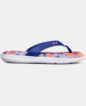 New Arrival Girls' UA Marbella VI Alpha Sandals  1 Color $30