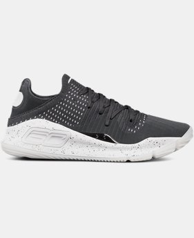 Men's UA Curry 4 Low Basketball Shoes  1 Color $150