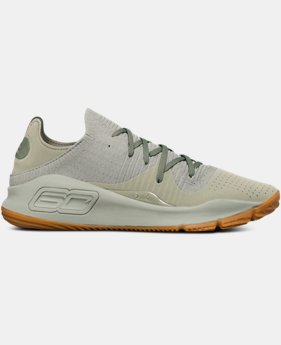 New Arrival  Men's UA Curry 4 Low Basketball Shoes  1 Color $150