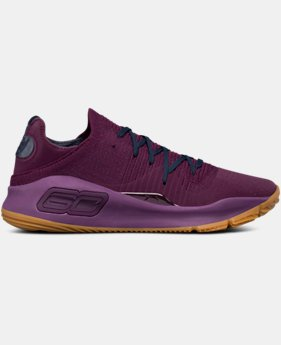 Men's UA Curry 4 Low Basketball Shoes   $120