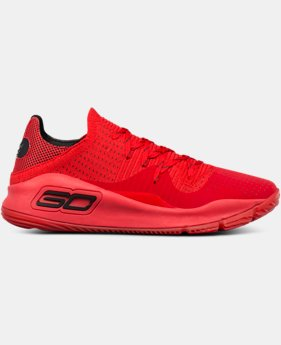 New Arrival Men's UA Curry 4 Low Basketball Shoes  1 Color $120
