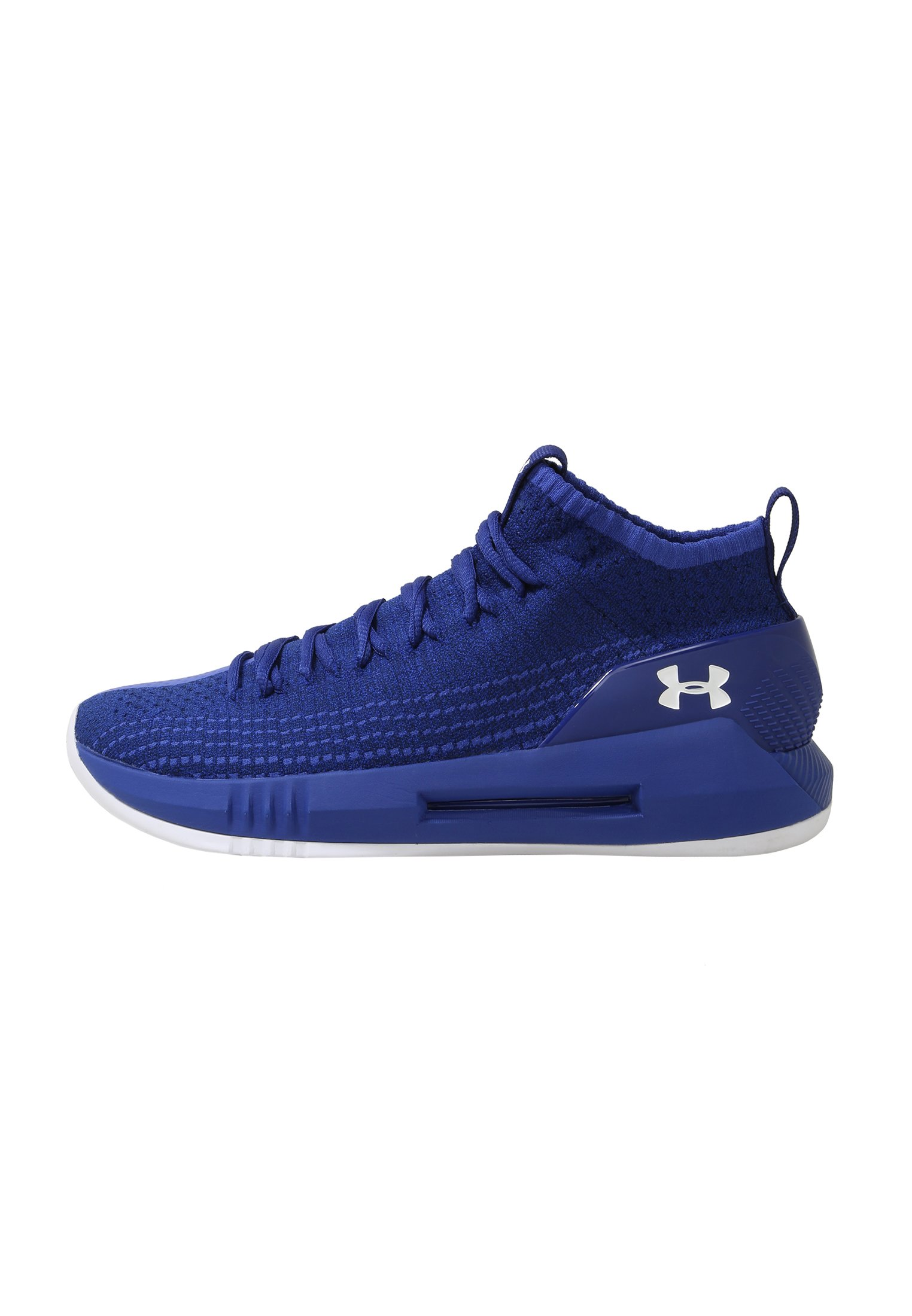 Men's UA Heatseeker Basketball Shoes, FORMATION BLUE,