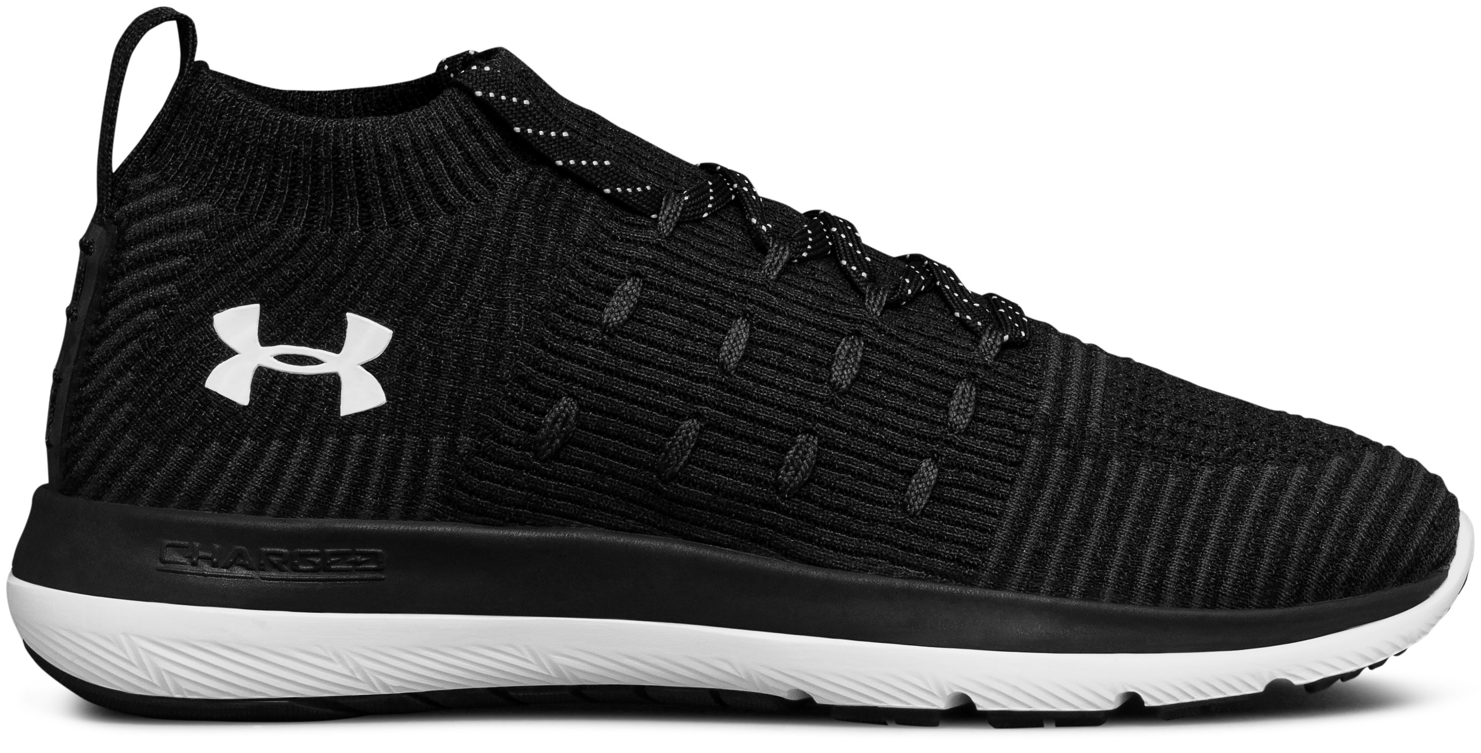 Women's UA Slingflex Rise Running Shoes, Black , undefined