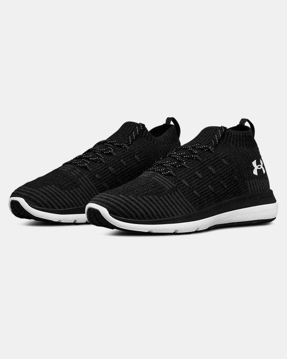 Chaussures de course UA Slingflex Rise pour femme, Black, pdpMainDesktop image number 4