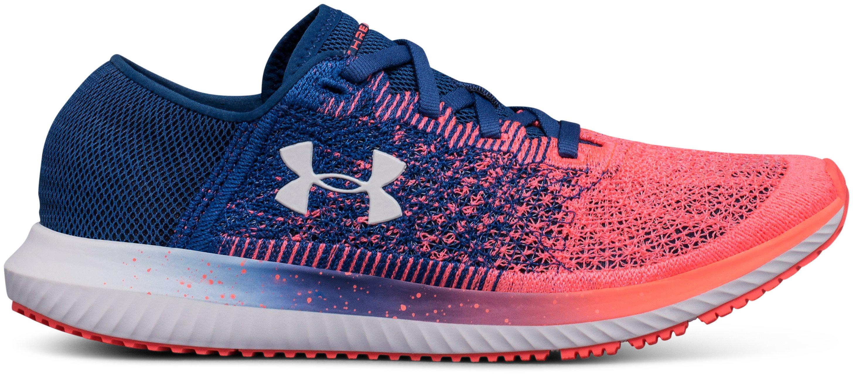 Women's UA Threadborne Blur Running Shoes, 360 degree view