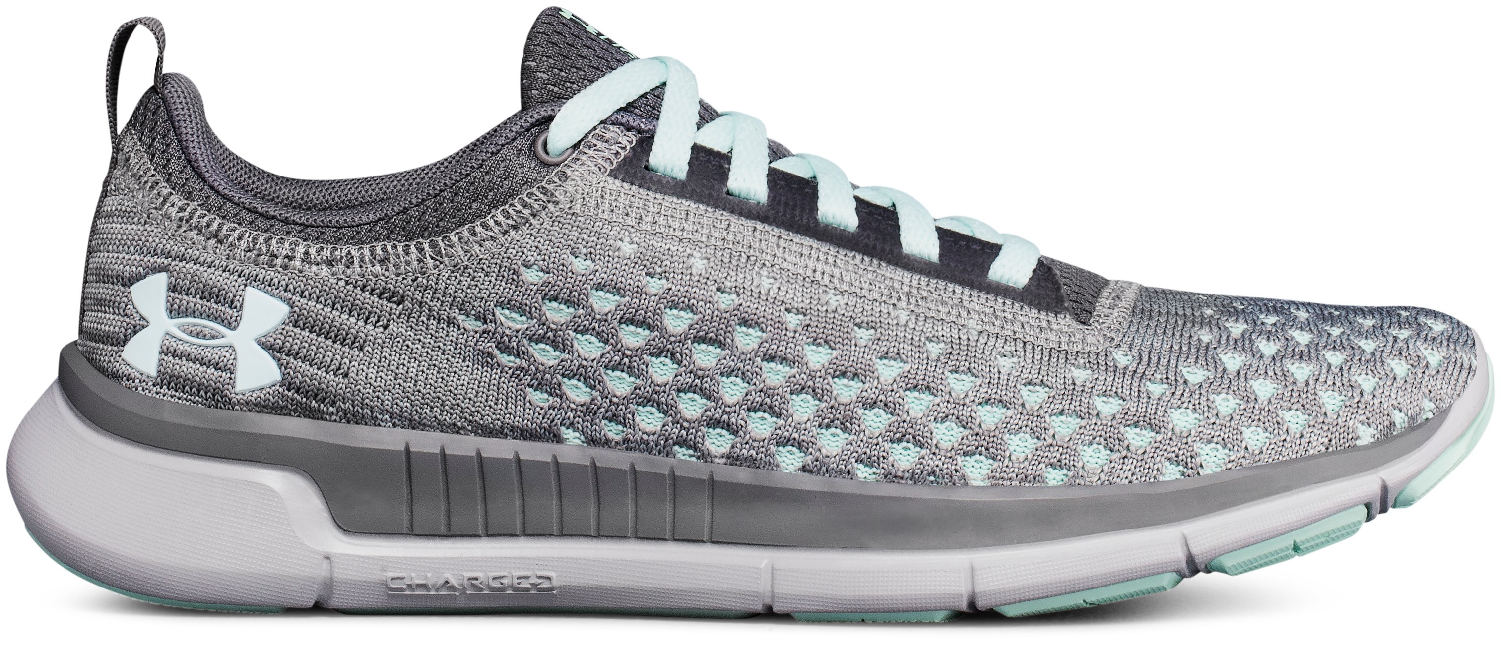 Women's UA Lightning 2 Running Shoes, ZINC GRAY