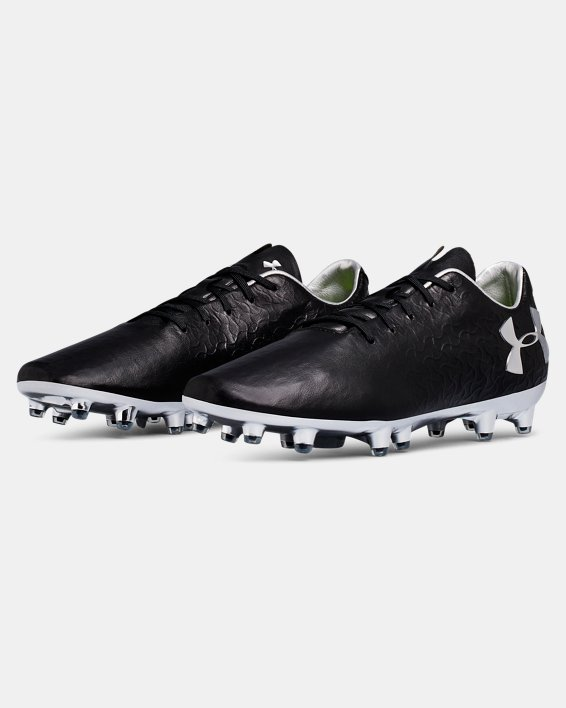 Men's UA Magnetico Pro FG Soccer Cleats, Black, pdpMainDesktop image number 4