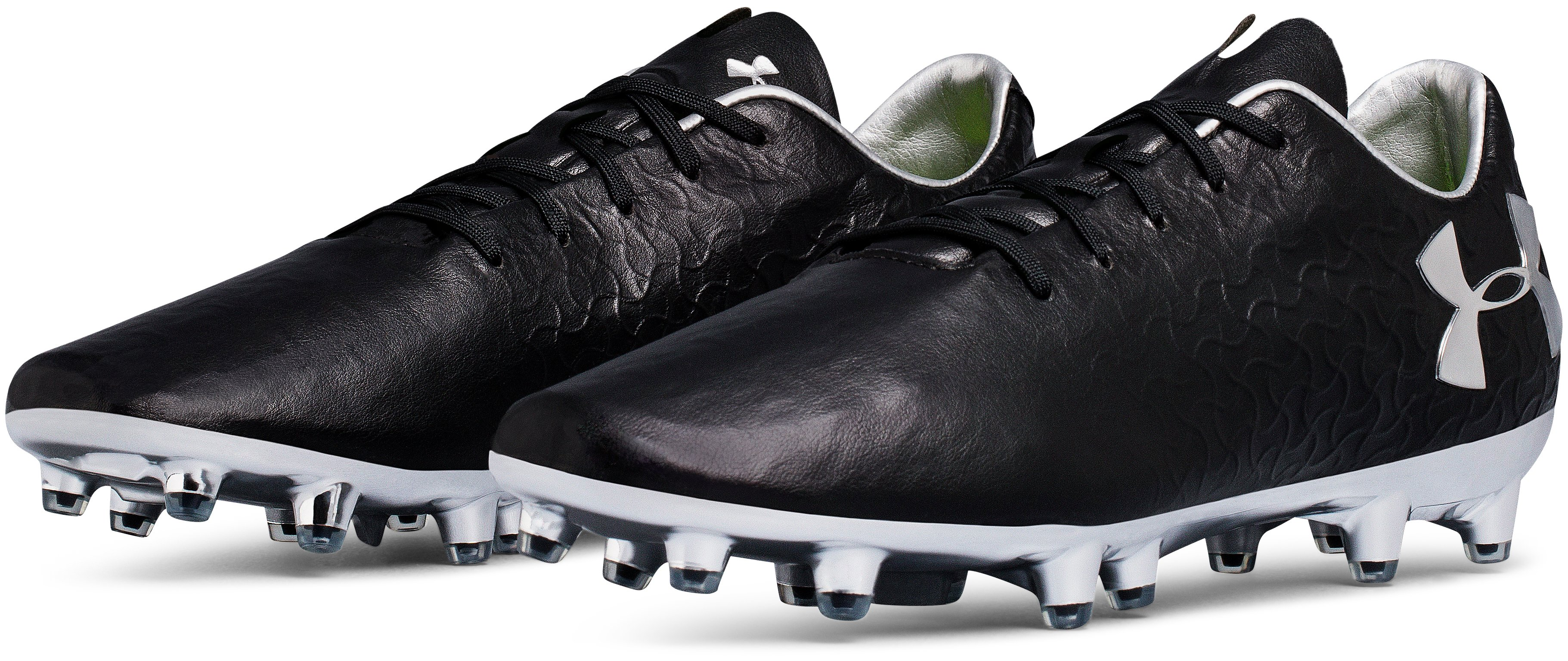 Men's UA Magnetico Pro FG Soccer Cleats, Black ,