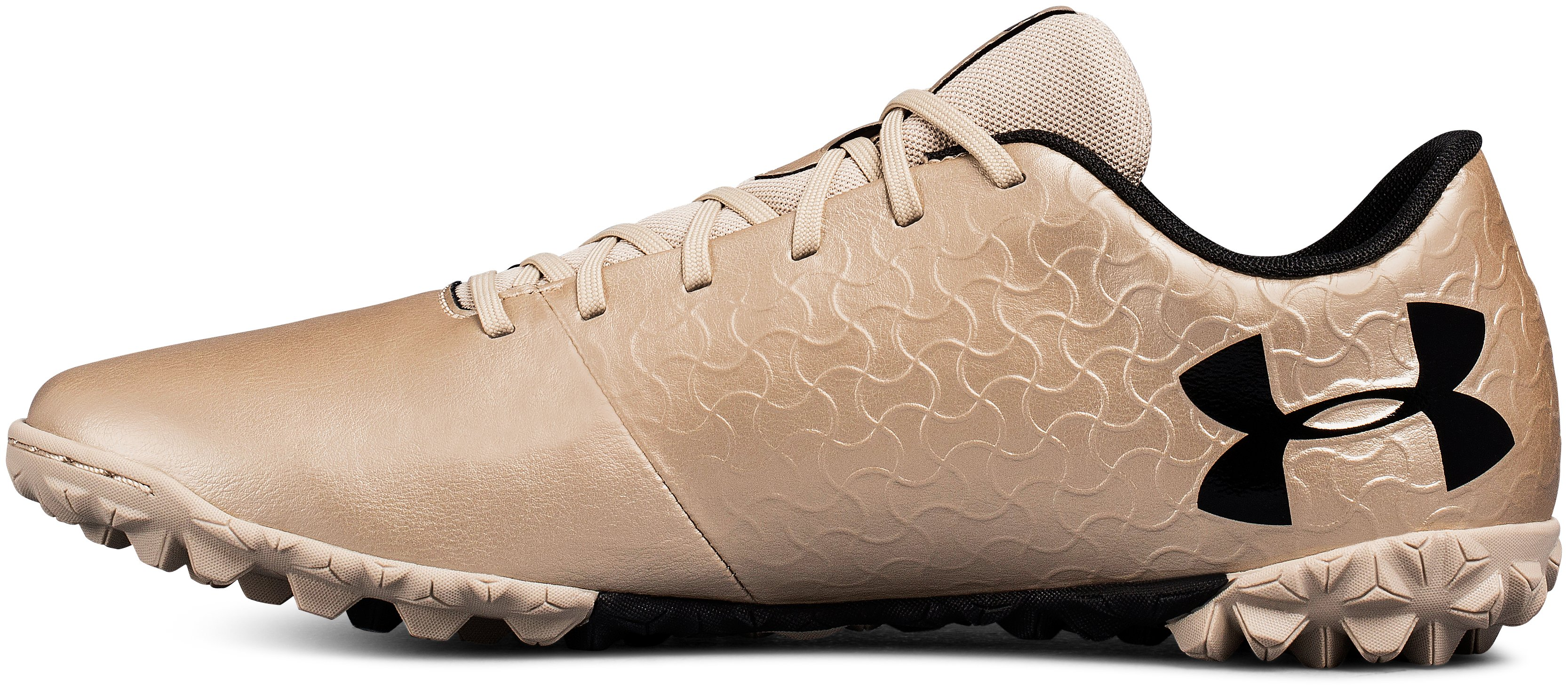 Men's UA Magnetico Select TF Soccer Cleats, METALLIC FADED GOLD,