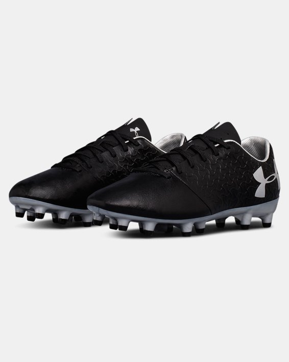 Boys' UA Magnetico Select FG JR Soccer Cleats, Black, pdpMainDesktop image number 4