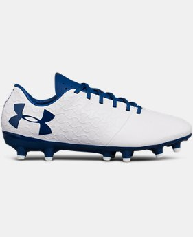 Boys' UA Magnetico Select FG JR Soccer Cleats   $70