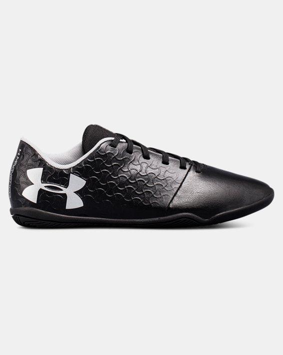 Boys' UA Magnetico Select IN JR Soccer Cleats, Black, pdpMainDesktop image number 0