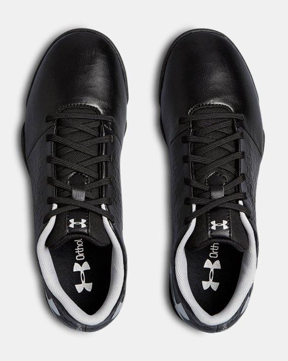 Boys' UA Magnetico Select IN JR Soccer Cleats, Black, pdpMainDesktop image number 3