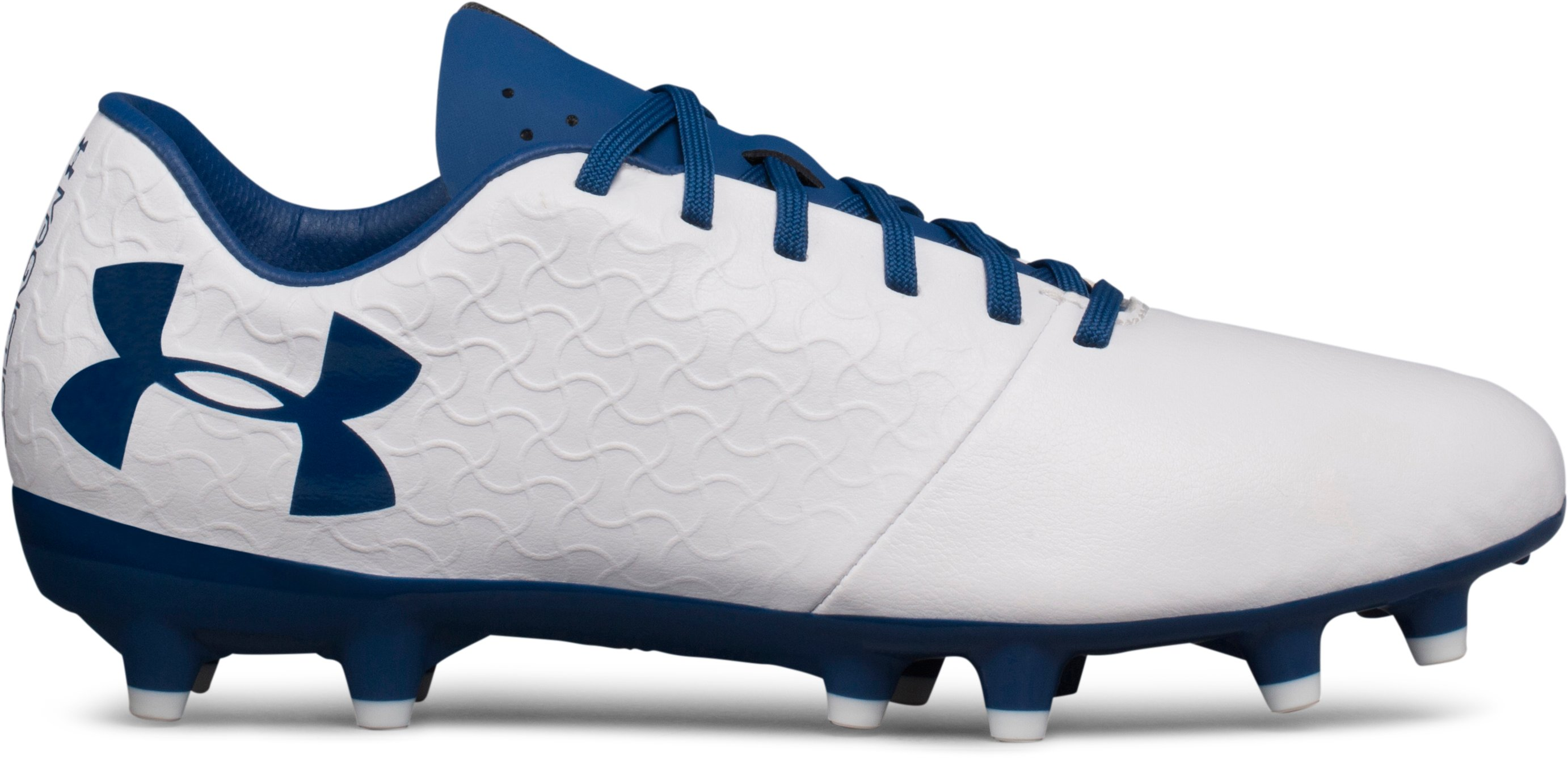 Women's UA Magnetico Select FG Soccer Cleats, White, undefined