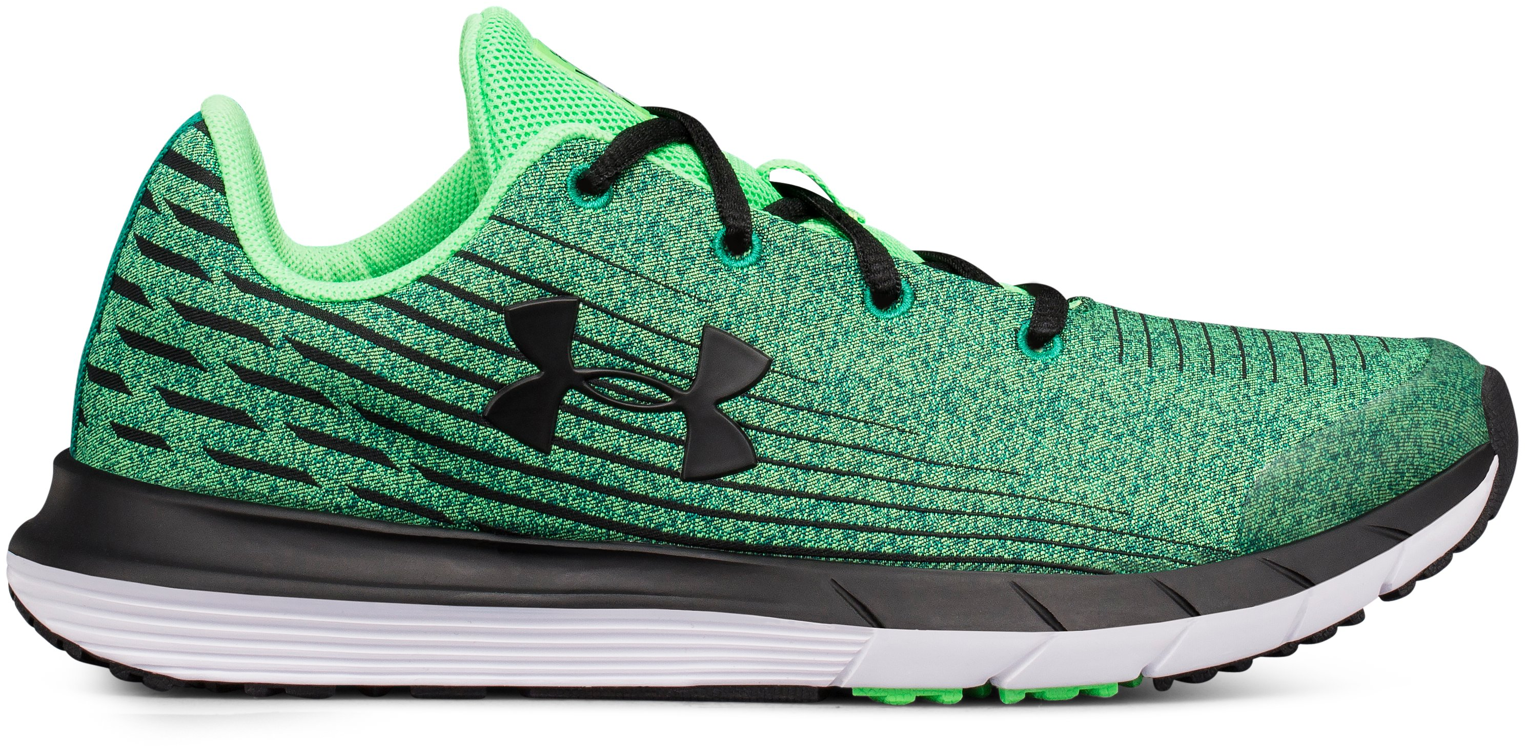 Boys' Grade School UA X Level SplitSpeed, ARENA GREEN