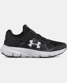 New Arrival Boys' Pre-School UA Rave 2 Alternative Closure  1 Color $50