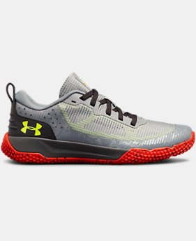 Boys' Grade School UA X Level MainShock  6  Colors Available $70