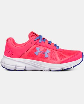 New Arrival Girls' Pre-School UA Rave 2  1 Color $50