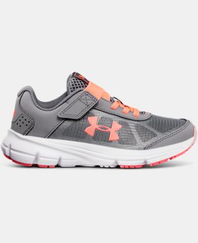 New Arrival Girls' Pre-School UA Rave 2 Alternative Closure  1  Color $50