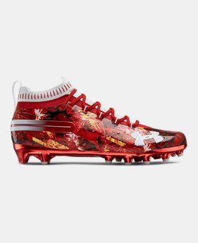 9 Red Football Cleats Spikes Under Armour Us