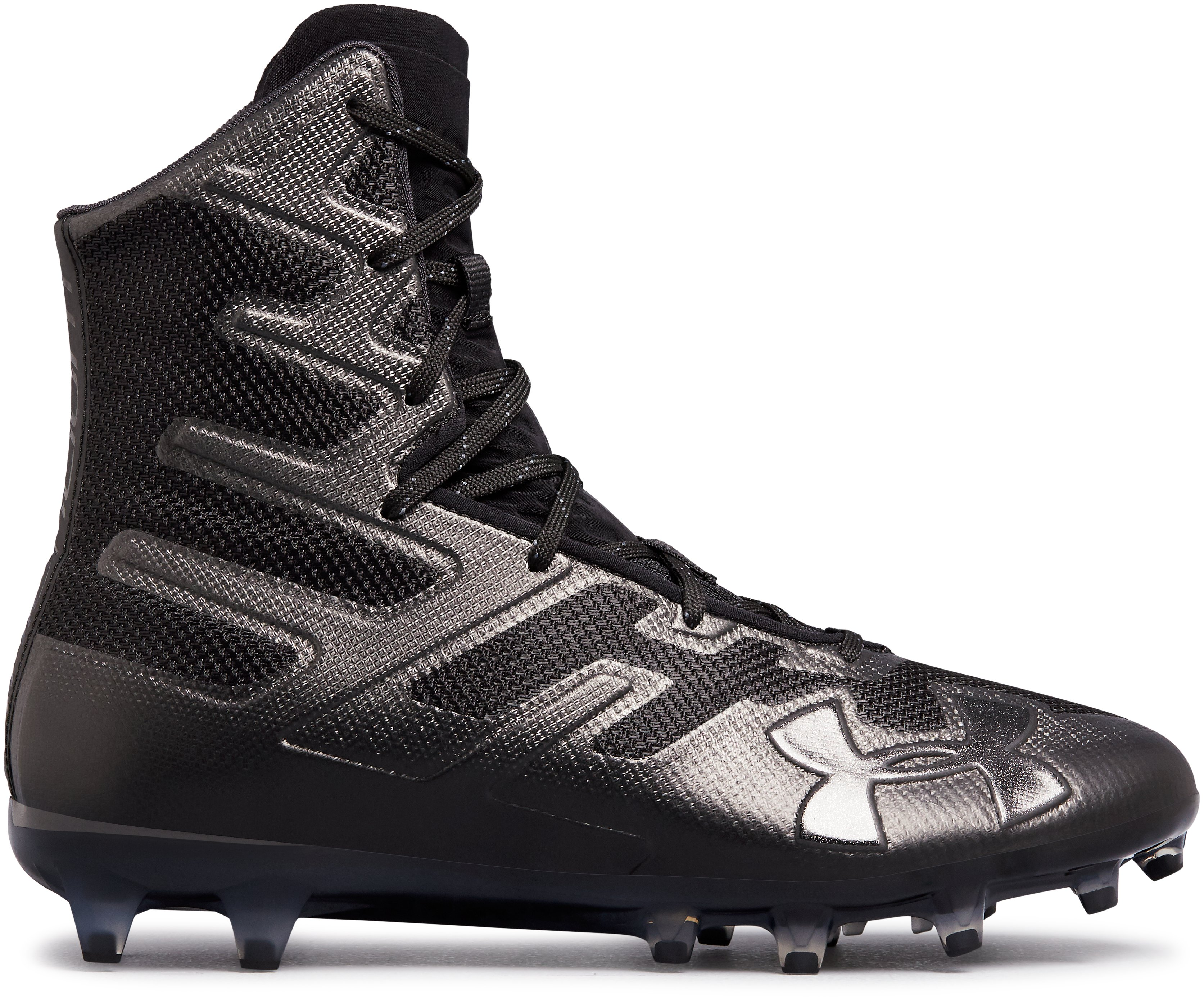 Men's UA Highlight MC Football Cleats, Black ,