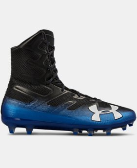 Men's UA Highlight MC Football Cleats FREE U.S. SHIPPING 4  Colors Available $130
