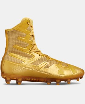 Men S Gold Football Cleats Spikes Under Armour Us