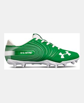 c3de7ef46b2 Men s UA Nitro Low MC Football Cleats 7 Colors Available  80. 7 Colors  Available. Team Kelly Green  Midnight Navy  Red  Black  Black  White  TEAM  ROYAL