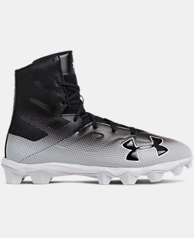 Men's UA Highlight RM Football Cleats FREE U.S. SHIPPING 2  Colors Available $60