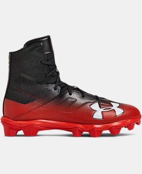New Arrival Men's UA Highlight RM Football Cleats  3  Colors Available $60