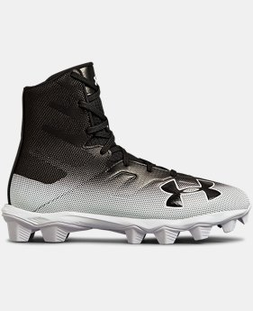 Boys' UA Highlight RM Jr. Football Cleats  6  Colors Available $55