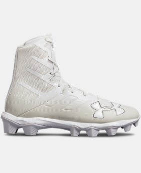 New Arrival Boys' UA Highlight RM Jr. Football Cleats  5  Colors Available $55